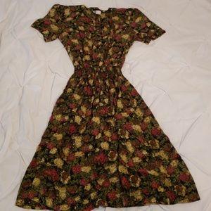 Taurus II vintage fall dress